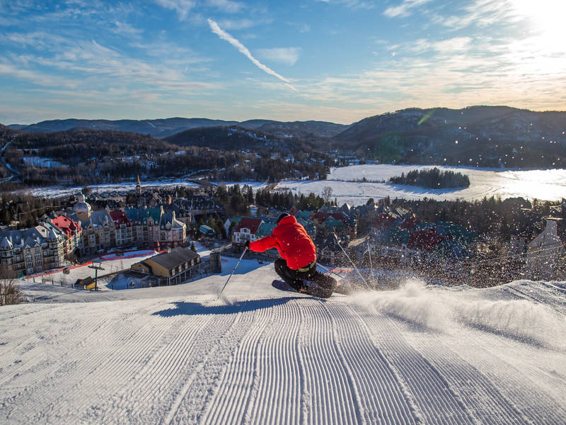 ski in tremblant